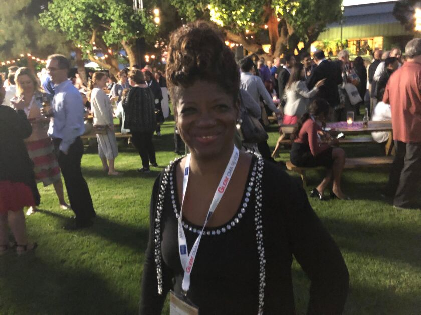 Linda Devonish-Mills, director of diversity and inclusion at the Institute of Management Accountants, at the IMA's annual conference and 100th anniversary celebration in San Diego.