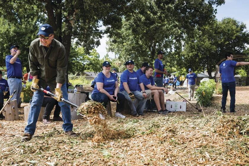 Sensiba San Filippo volunteering in 2018