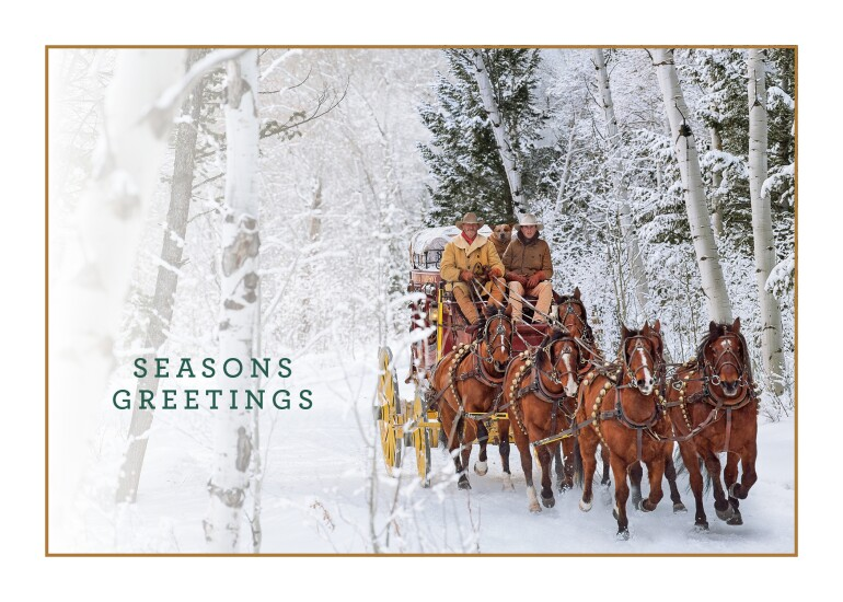 wells fargo holiday card IAG
