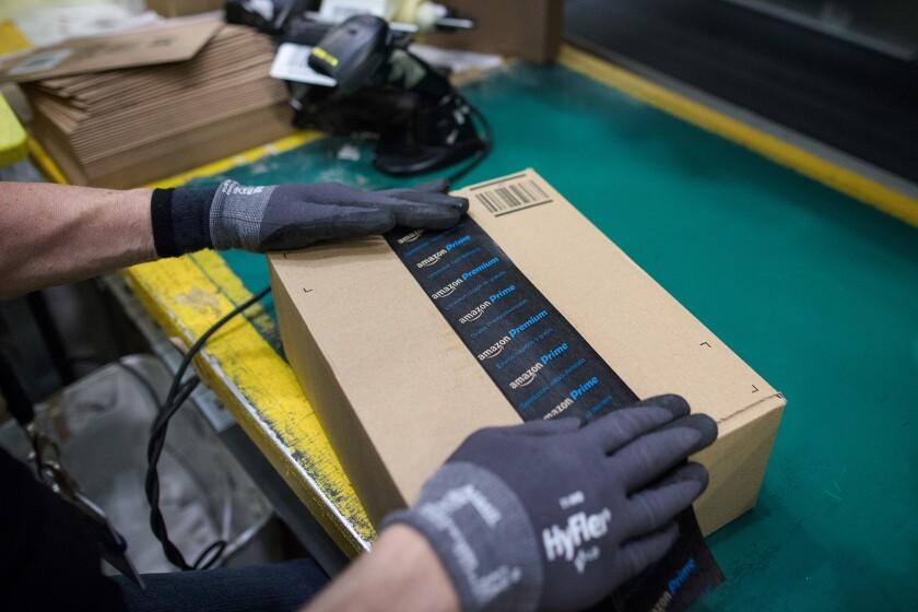 Amazon shipping box
