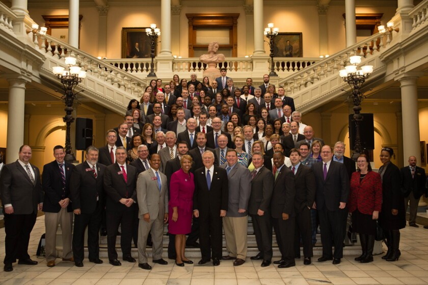 Georgia Society of CPAs' 6th annual CPA Day at state capitol