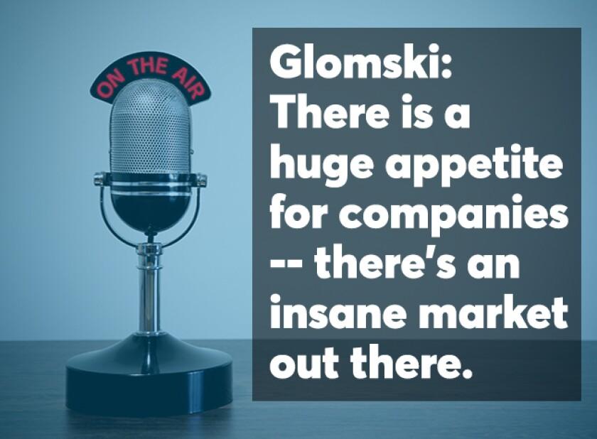 Glomski podcast screen