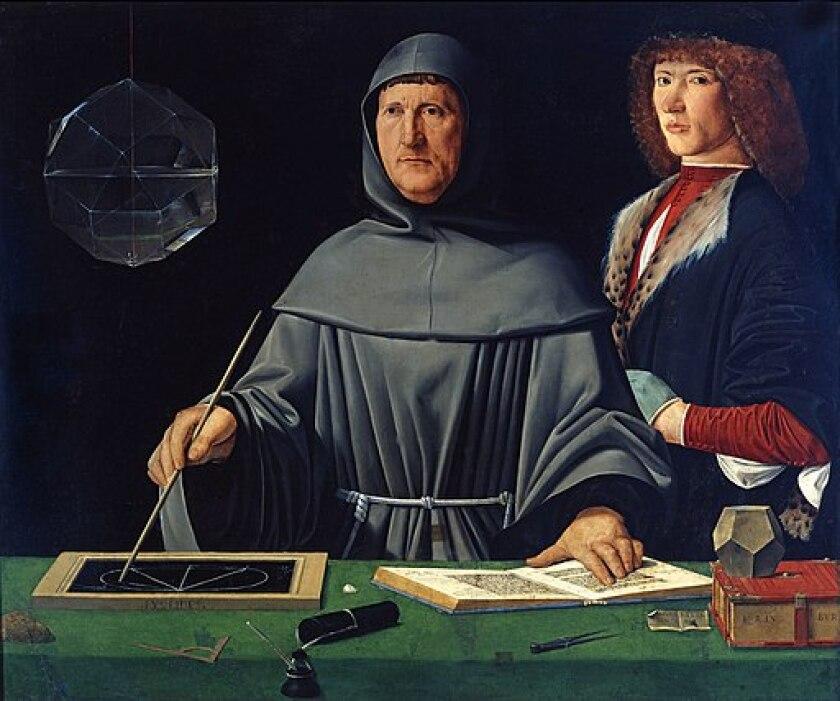 Portrait of Fra Luca Pacioli