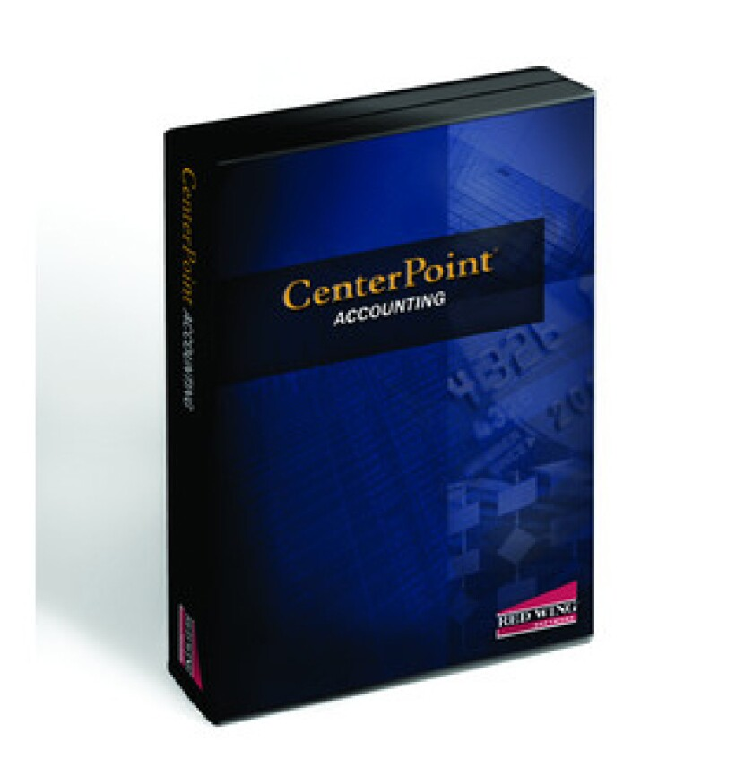 CenterPoint accounting software from Red Wing