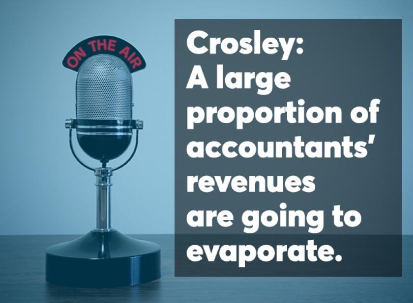 Crosley technology podcast screen