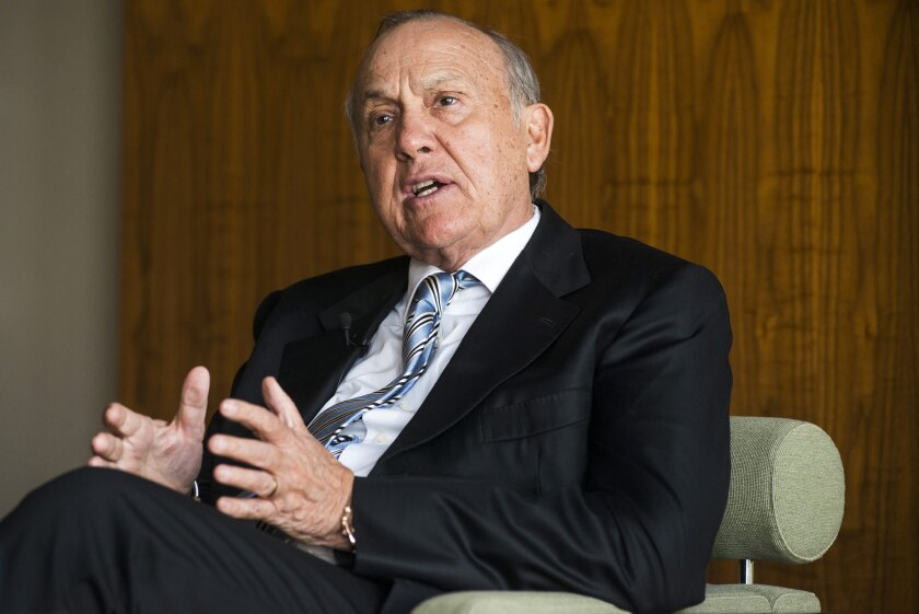 Christo Wiese, billionaire and chairman of Steinhoff Holdings NV