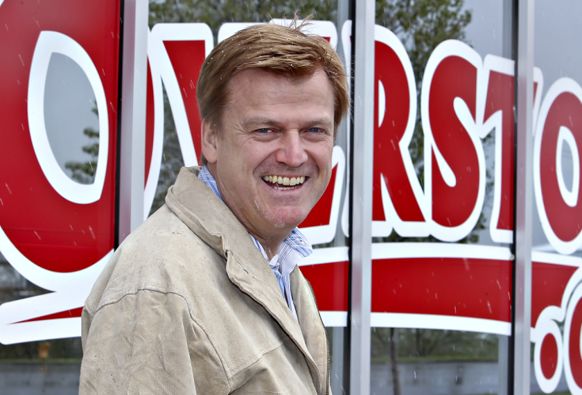 Patrick Byrne, CEO of Overstock.com