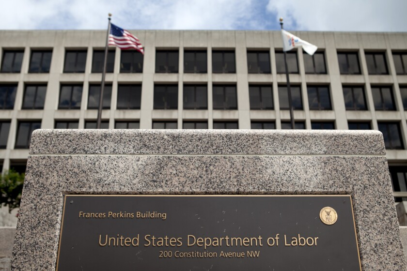 Department of Labor 2