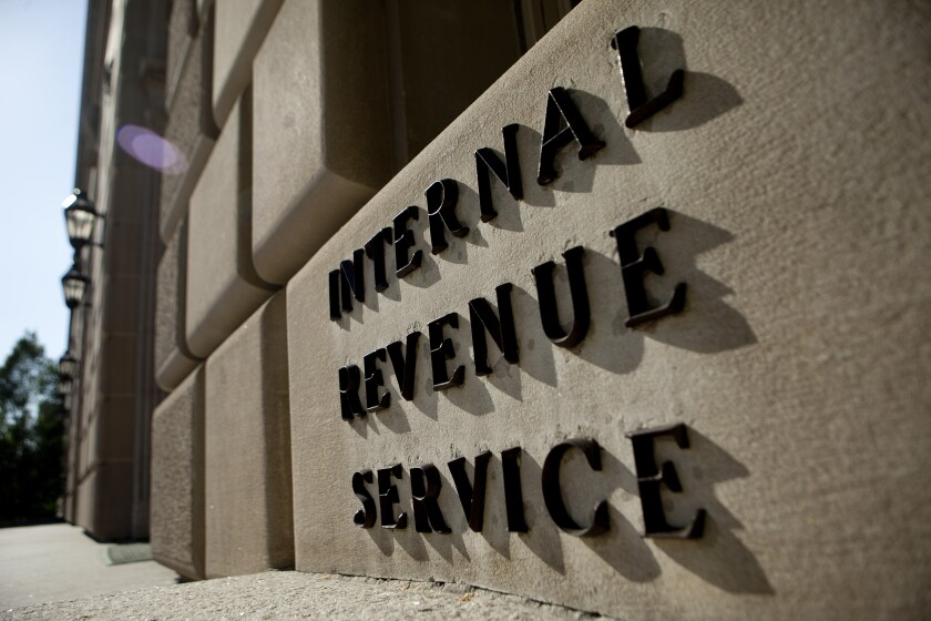 IRS building taxes IAG