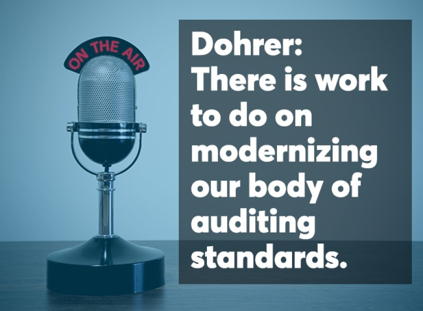 Dohrer August podcast screen
