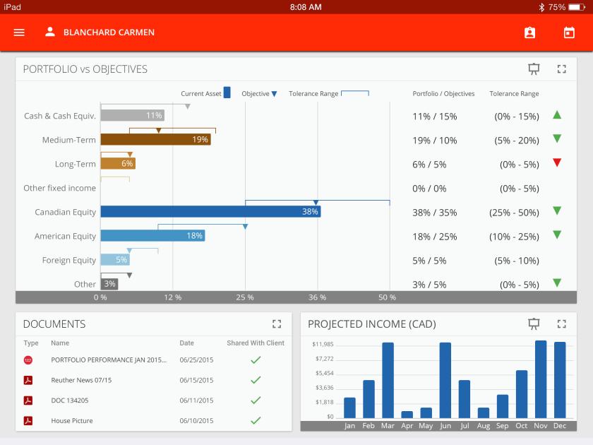 Croesus Advisor Screenshot