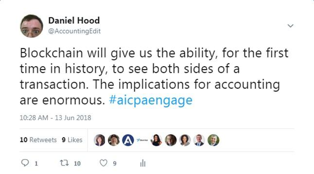 Engage 2018 - Blockchain impact