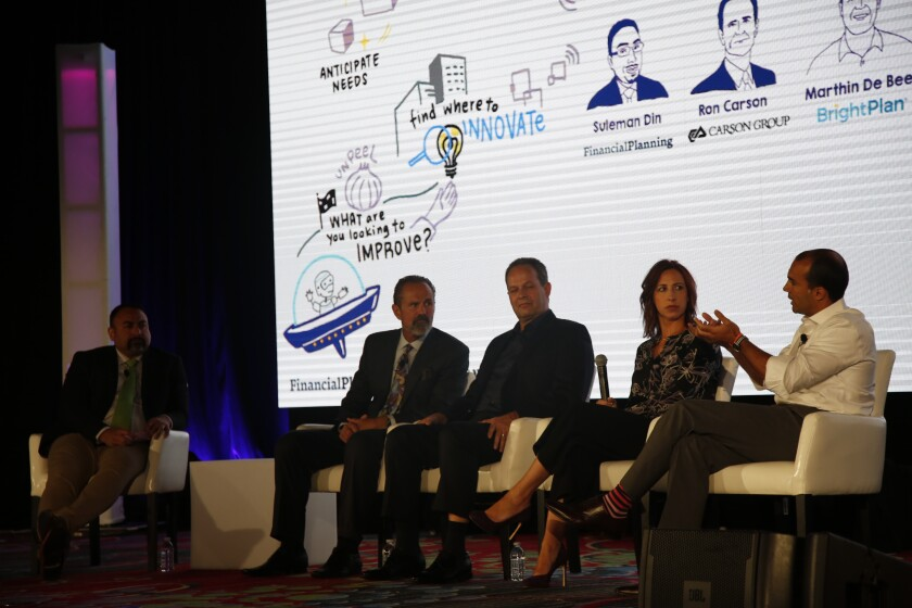 Invest 2018 ron carson hybrid advisors IAG