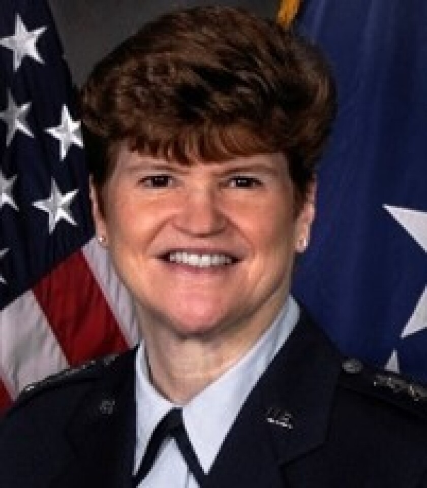 Retired General Janet Wolfenbarger is joining KPMG's U.S. board of directors.