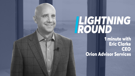 The most pressing danger facing RIAs: Lightning Round with Orion CEO Eric Clarke