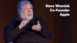 Thumbnail for Video: The Woz on consumer privacy