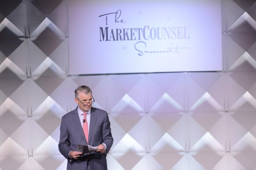 Wells Fargo Advisors President David Kowach speaks at MarketCounsel Summit 2018