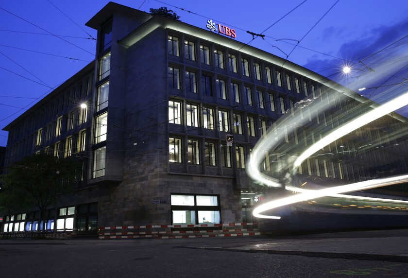 UBS headquarters in Zurich, Switzerland