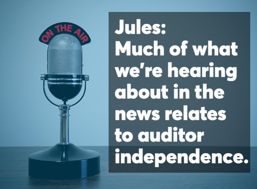 Diane Jules podcast screen