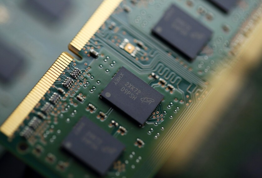 Micron Technology SDRAM chips