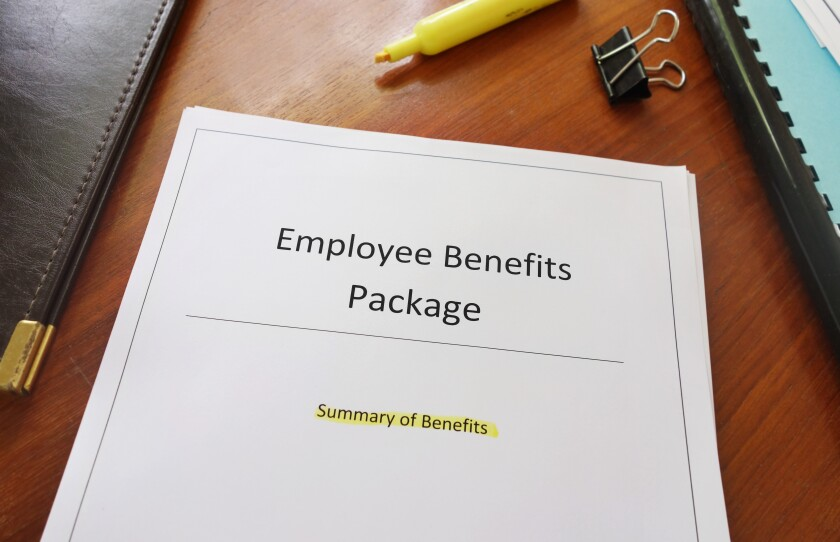 employee benefits adobe stock photo