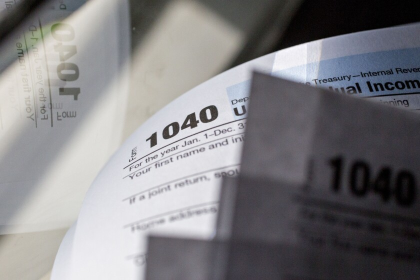 IRS new draft schedules may bulk up the old Form 1040
