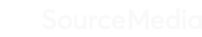 SourceMedia Logo White